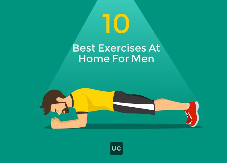 10 bài tập thể dục tại nhà cho nam giới cực kỳ đơn giản
