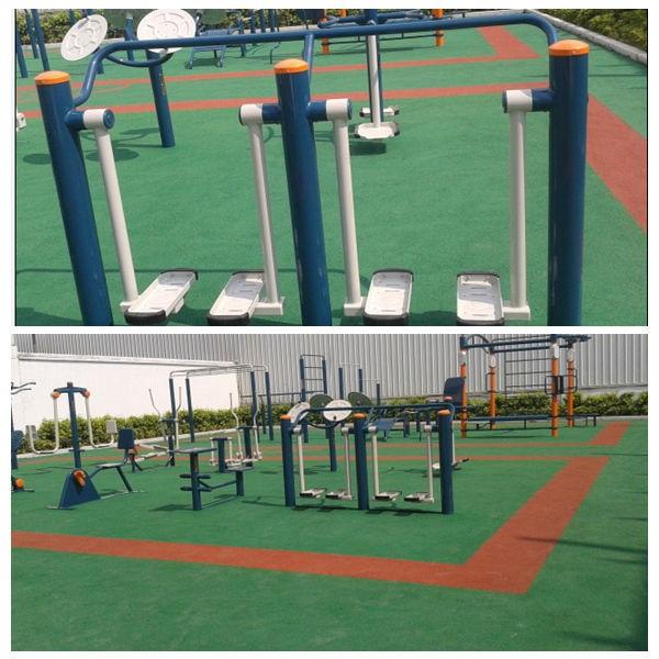 Lợi ích của việc tập thể dục với thiết bị công viên?