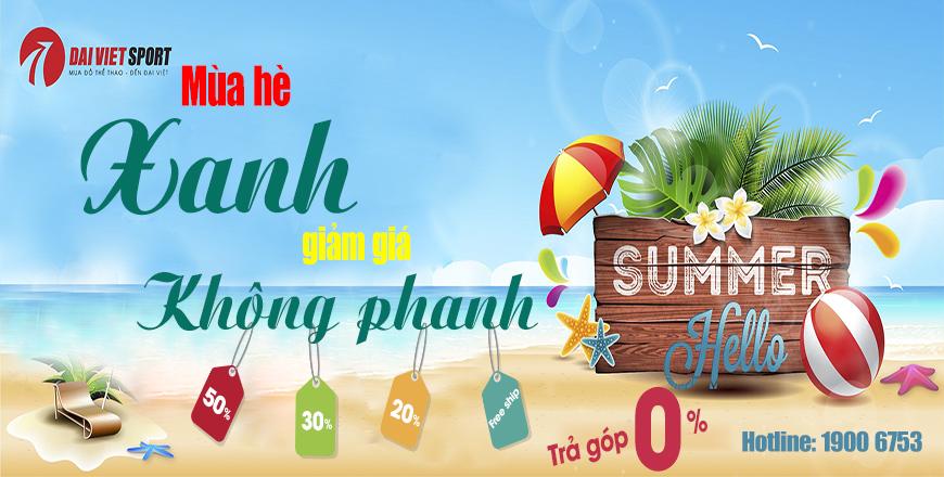 Mùa HÈ XANH - GIẢM GIÁ KHÔNG PHANH