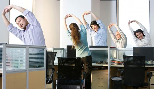 Những tuyệt chiêu giảm béo bụng cho dân văn phòng