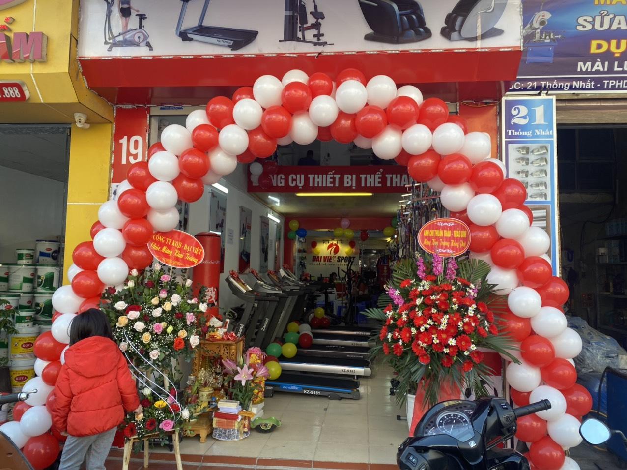 Siêu khuyến mãi-khai trương Đại Việt Sport tại Thái Bình