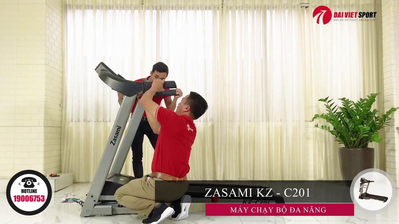Video Hướng Dẫn Lắp Đặt Máy Chạy Bộ Điện Zasami KZ - C201