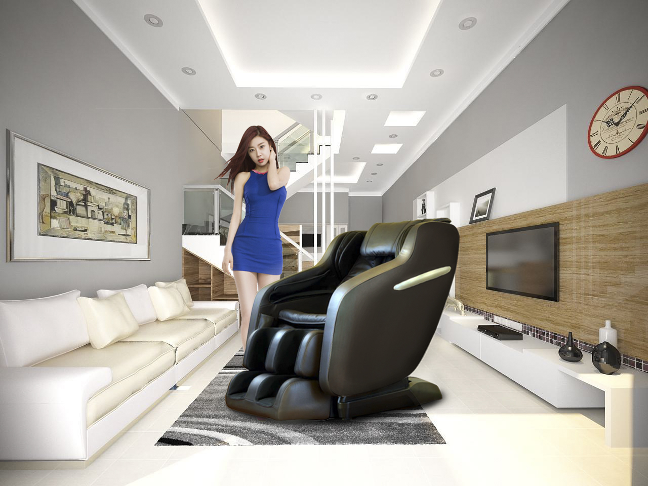 Ghế massage OS 568