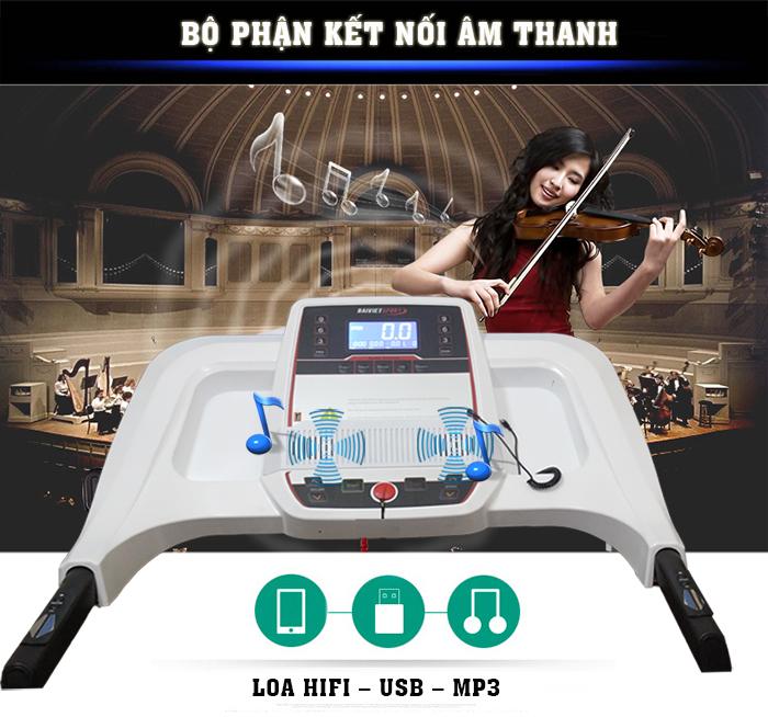 Âm nhạc Máy chạy bộ điện Đại Việt DV-555