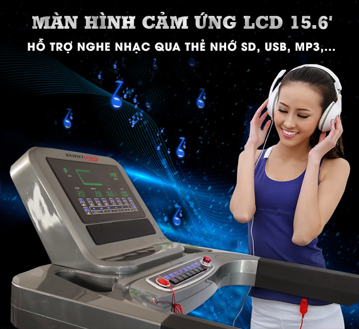 bảng điều khiển máy chạy bộ điện DV-5919