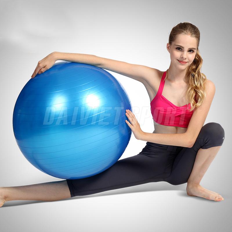 Bóng tập yoga trơn 65cm TLM