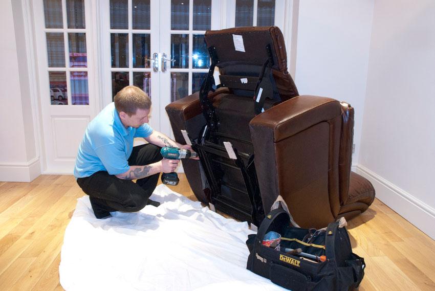 chế độ bảo hành ghế massate tại nhà
