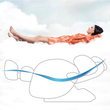 chế độ massage không trọng lực zero-gravity