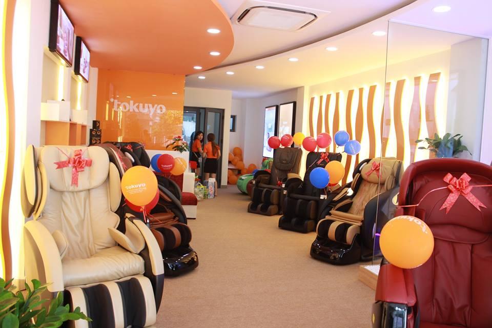 cửa hàng bán ghế massage tại Hải Phòng
