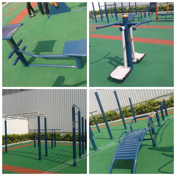 Đánh giá hiệu quả mà máy tập thể dục công viên mang lại?