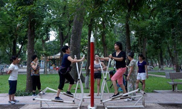 Đôi nét về những dụng cụ tập thể dục ở công viên