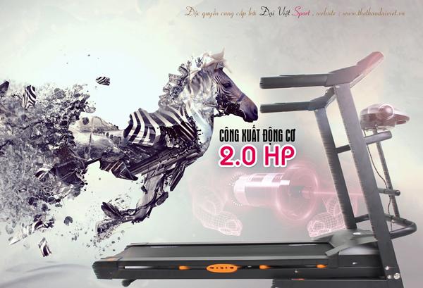 giảm cân với máy chạy bộ đại việt