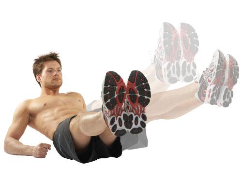 động-tác raise leg circles