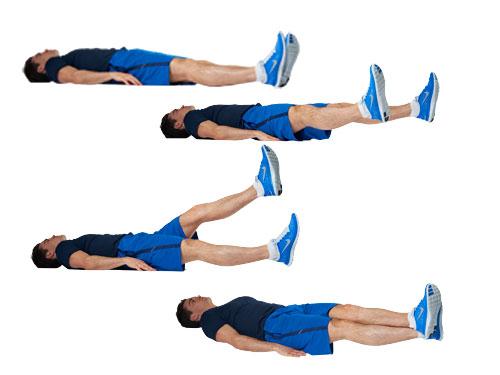 động tác tập cơ bụng hiệu quả