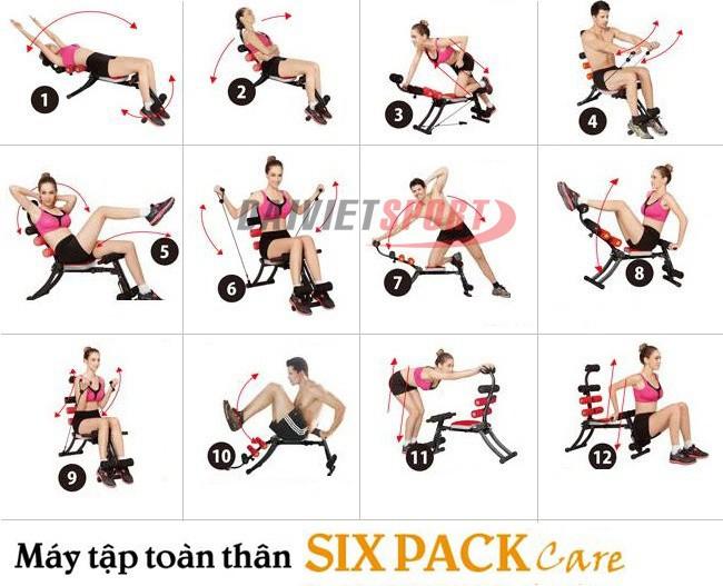 Động tác tập luyện  Six pack care