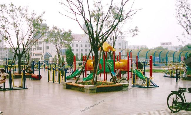 Dụng cụ thể ngoài trời tại Đại Việt Sport