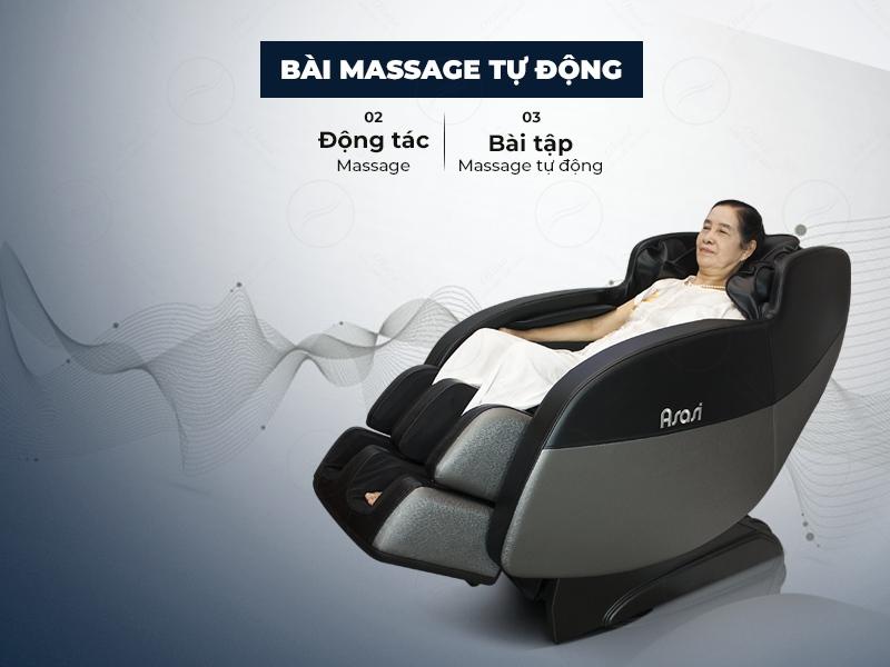 Ghế massage Asasi S3