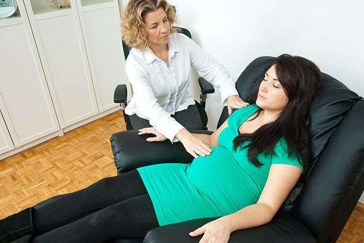 ghế massage cho bà bầu 2