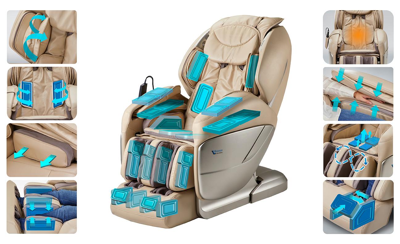 ghế massage cho người già có thực sự tốt không