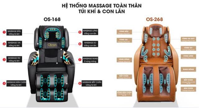 ghế massage okasa os 268