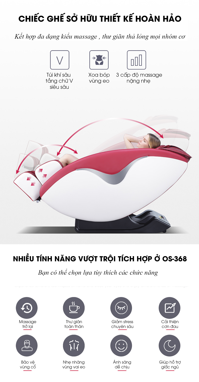 ghe massage toan thân Okasa OS-368