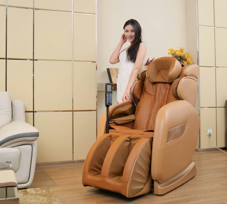 Giải pháp cho người tai biến - ghế massage toàn thân