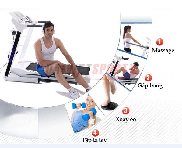 giảm cân hiệu quả nhờ máy chạy bộ gia đình1