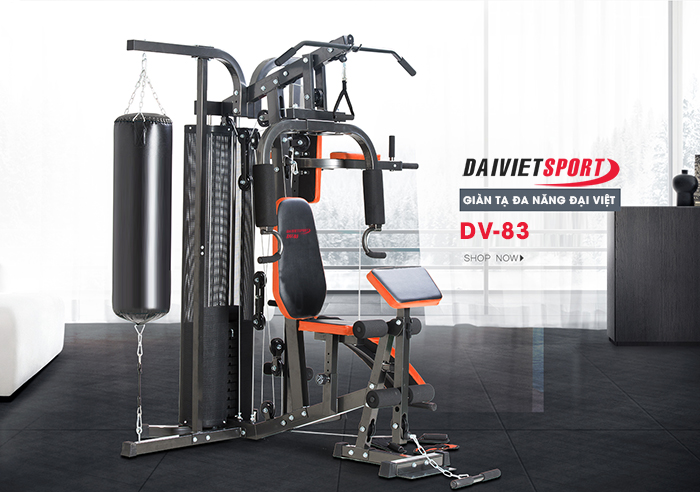 giàn tạ đa năng Đại Việt DV – 2014  được đăng kí độc quyền bởi Daiviet Sport