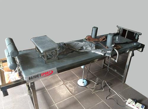 Giường điện kéo giãn cột sống GKĐV-01
