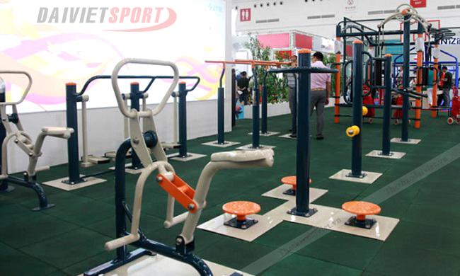 Hiệu quả của việc lắp đặt dụng cụ thể dục thể thao ở công viên