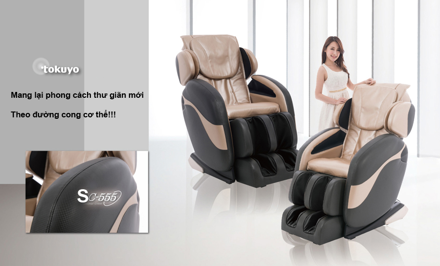 Ghế mát xa chính hãng có kích thước thế nào?