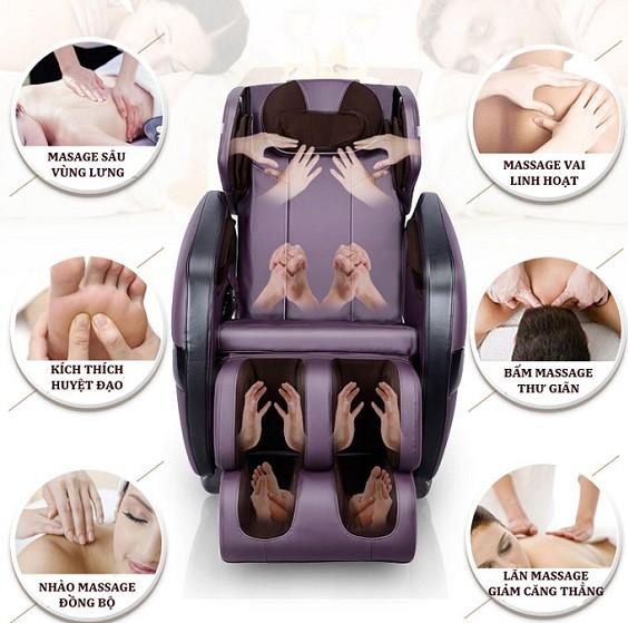 lợi ích của ghế massage đối với sức khỏe