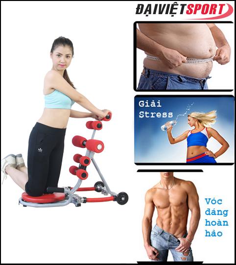 Lợi ích của việc sử dụng máy tập cơ bụng