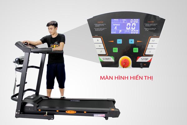 màn hình máy chạy bộ Đại Việt DV-1355
