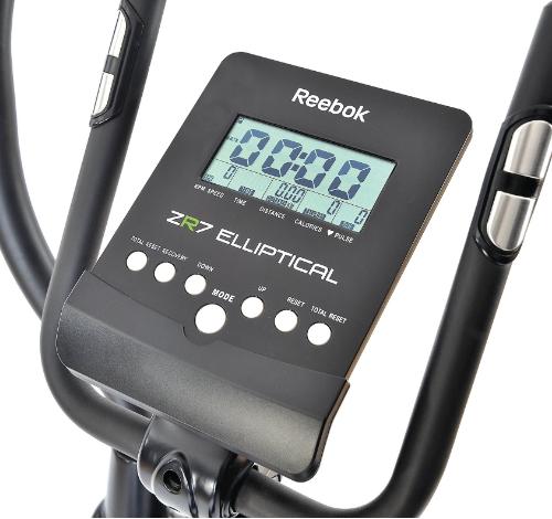 màn hình hiển thị xe đạp tập reebok zr7