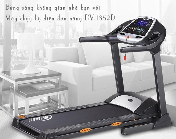 Máy chạy bộ điện đơn năng Đại Việt DV-1352D