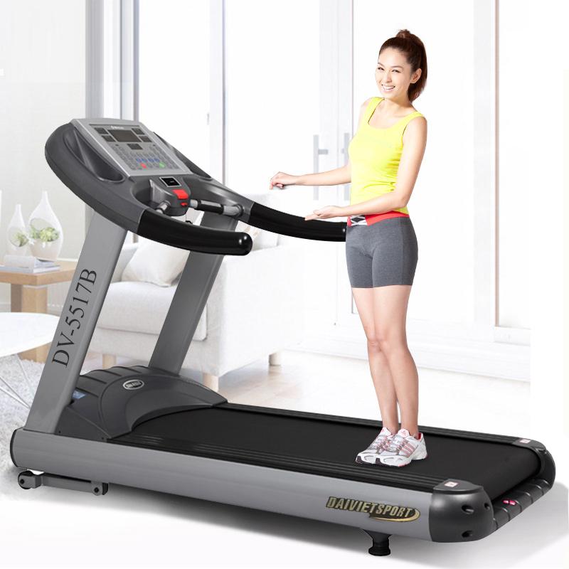 máy chạy bộ điện DV-5517B phong gym