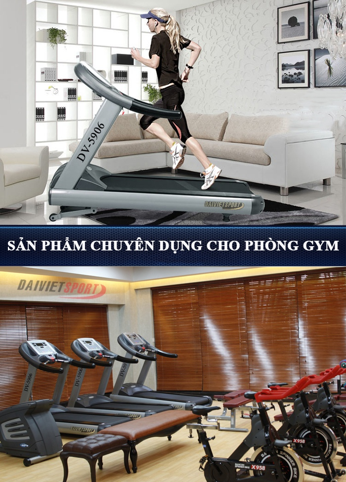 may chay bo phong Gym