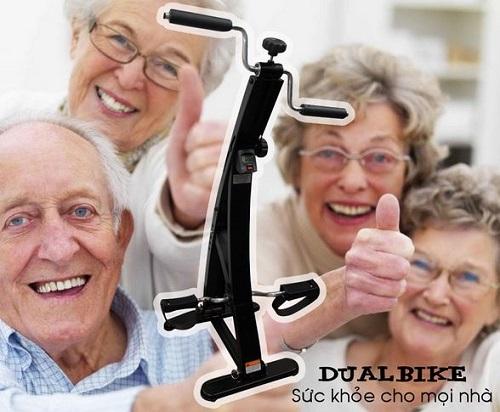 máy tập thể dục tại nhà dual bike