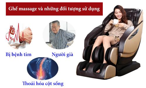 nen hay khong su dung ghe massage