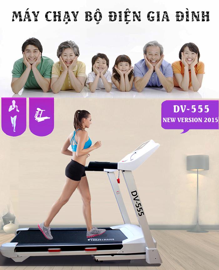 Sử dụng máy chạy bộ giúp tăng cân
