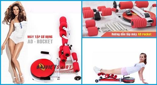 Sử dụng máy tập cơ bụng Ab rocket