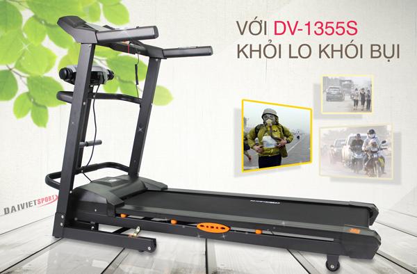 tác dụng máy chạy bộ điện Đại Việt DV-1355S