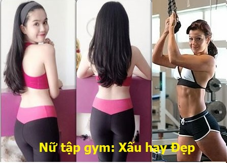 Tập gym nữ xấu hay đẹp?