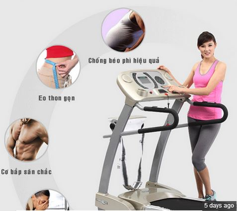Tập luyện giảm cân trên máy chạy bộ điện