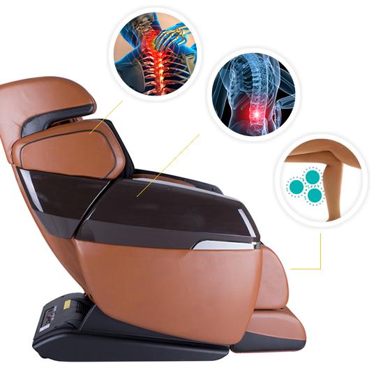 Tính năng sưởi ấm bằng nhiệt hồng ngoại trong ghế massage?