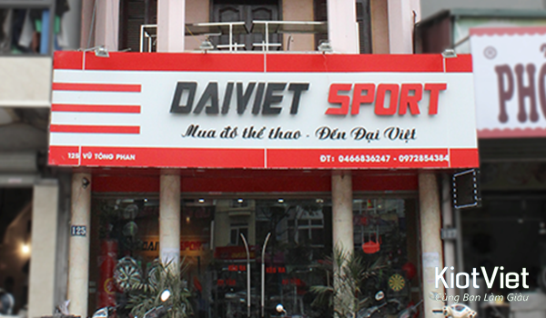 """Tư vấn mở cửa hàng thể thao """"chuẩn không cần chỉnh"""""""
