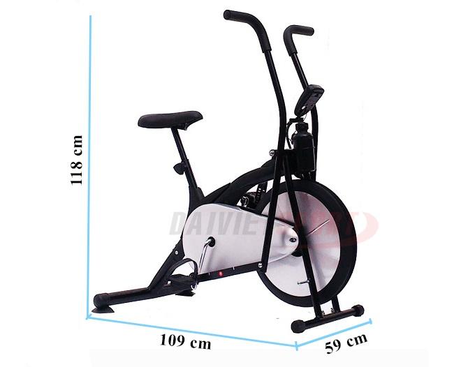 Xe đạp tập thẻ dục liên hoàn