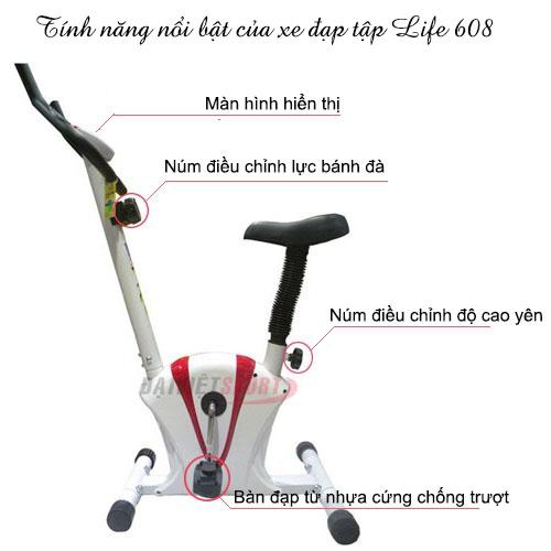 Xe đạp tập thể dục life 608