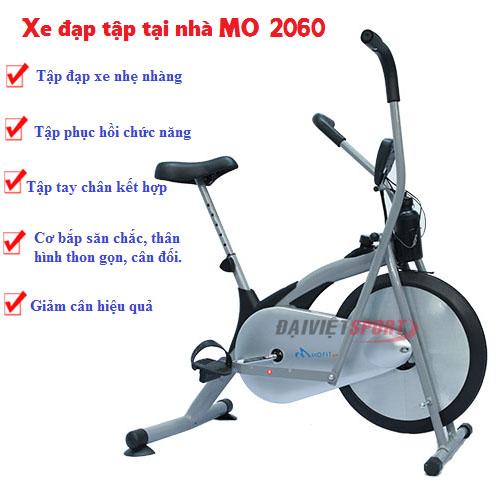 Xe đạp tập thể dục MO 2060